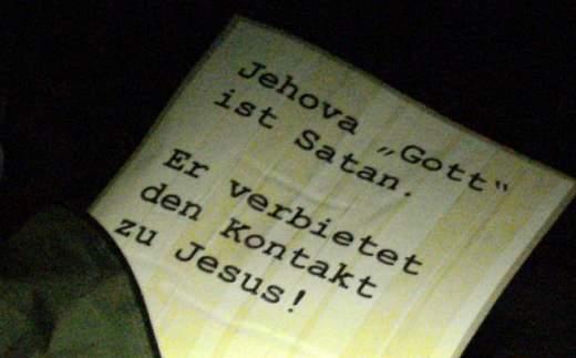 Zeugen Jehovas Schockiert Satan Ist Herrscher Und Herr Der