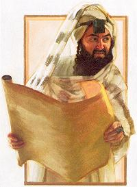 Anti-Semitic depiction of a scribe