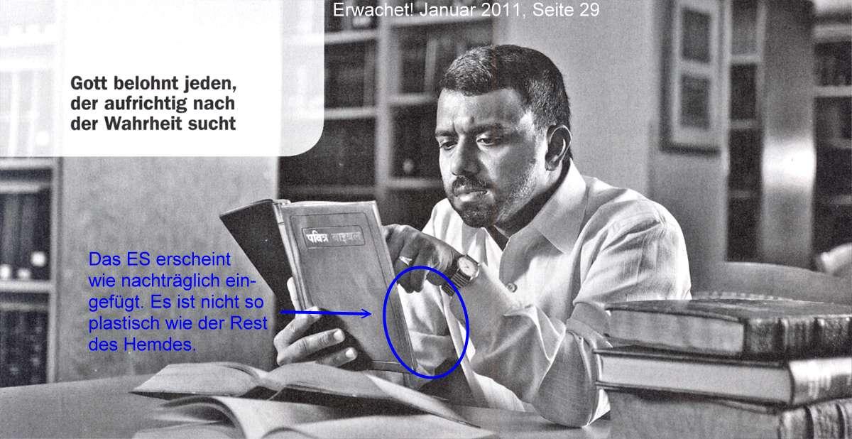 Bible student with Eternal Satan