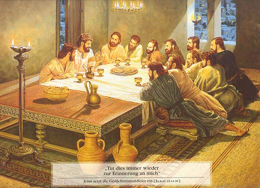 Watchtower-Jesus installs the Lord's Supper