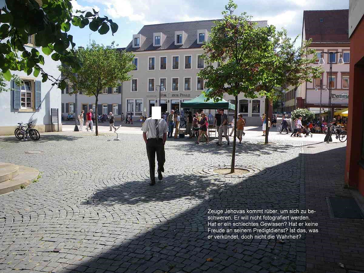 Jehovah's Witnesses in Speyer 25. August 2012