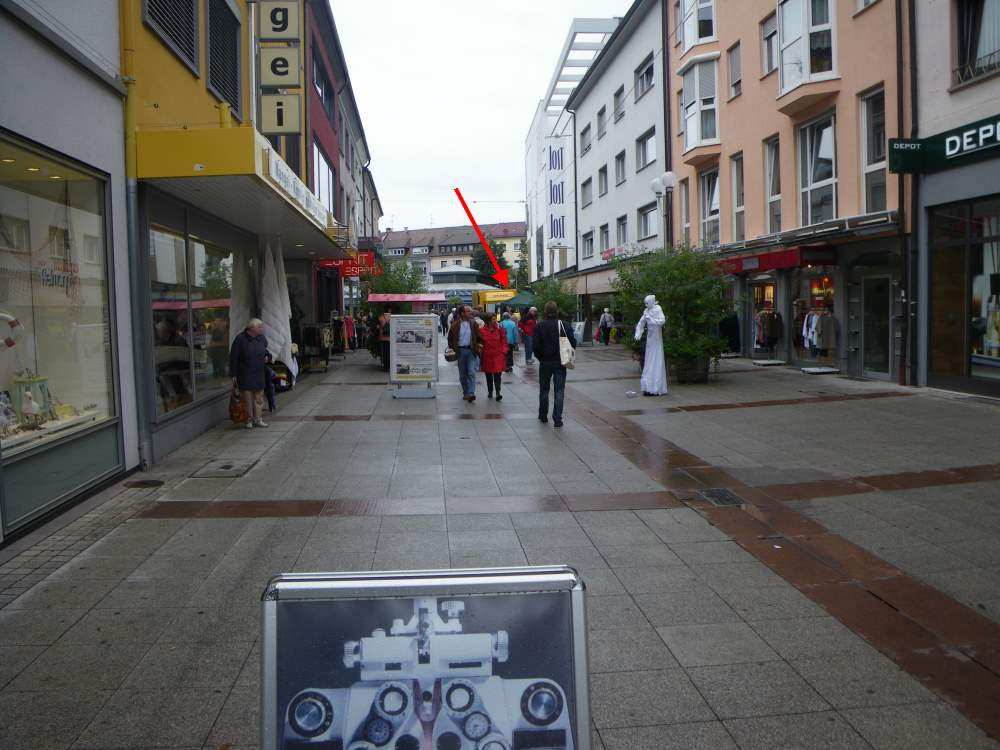 Bookstall of the Jehovah's Witnesses in Bruchsal 01 September 2012
