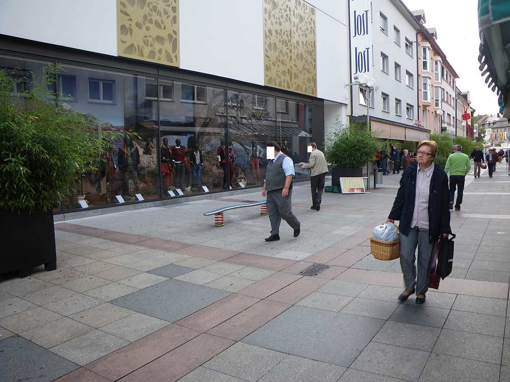 Bücherstand der Jehovas Zeugen in Bruchsal 15. September 2012