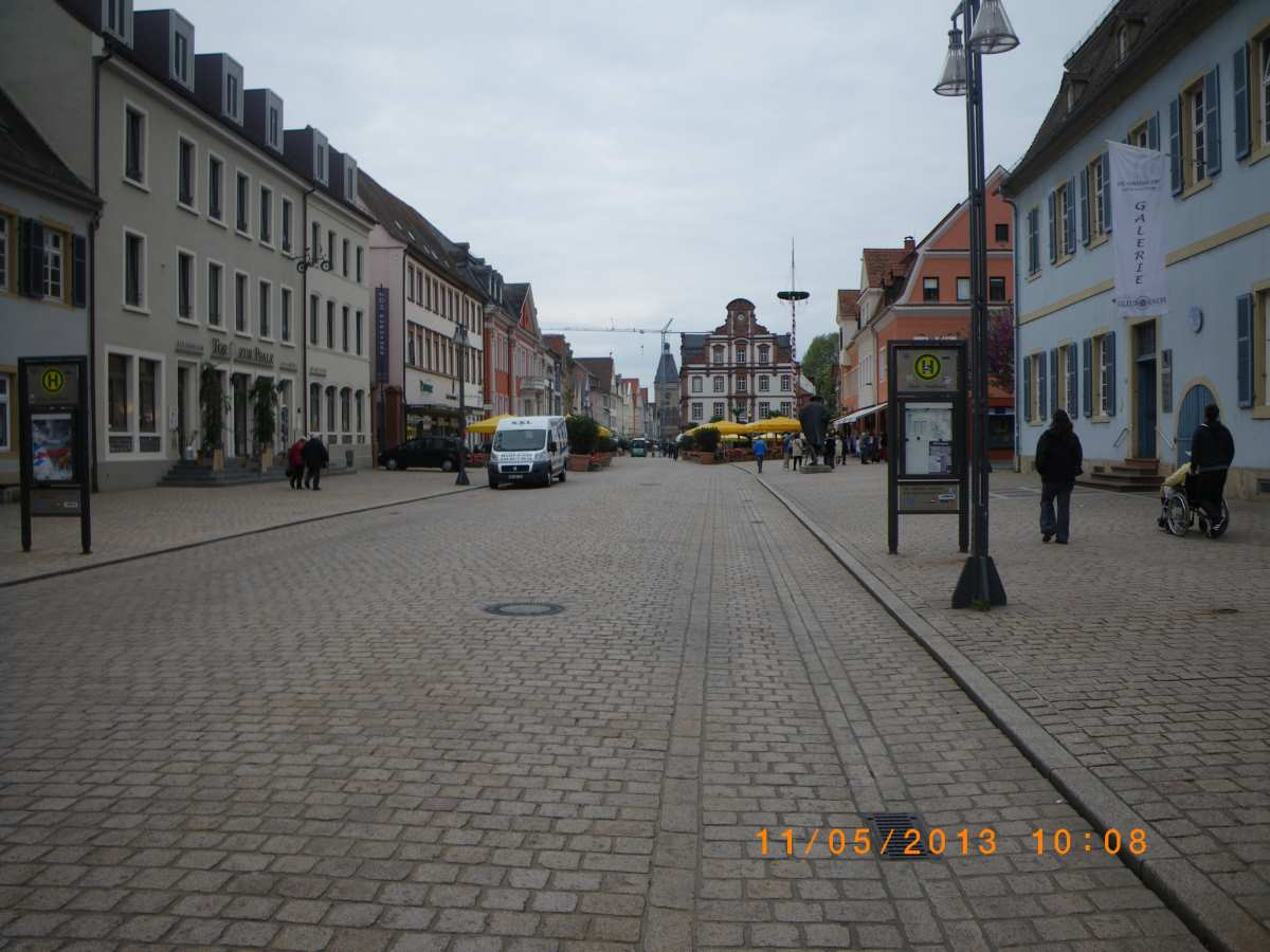Almost no Jehovah's Witnesses in Speyer on 11 May 2013