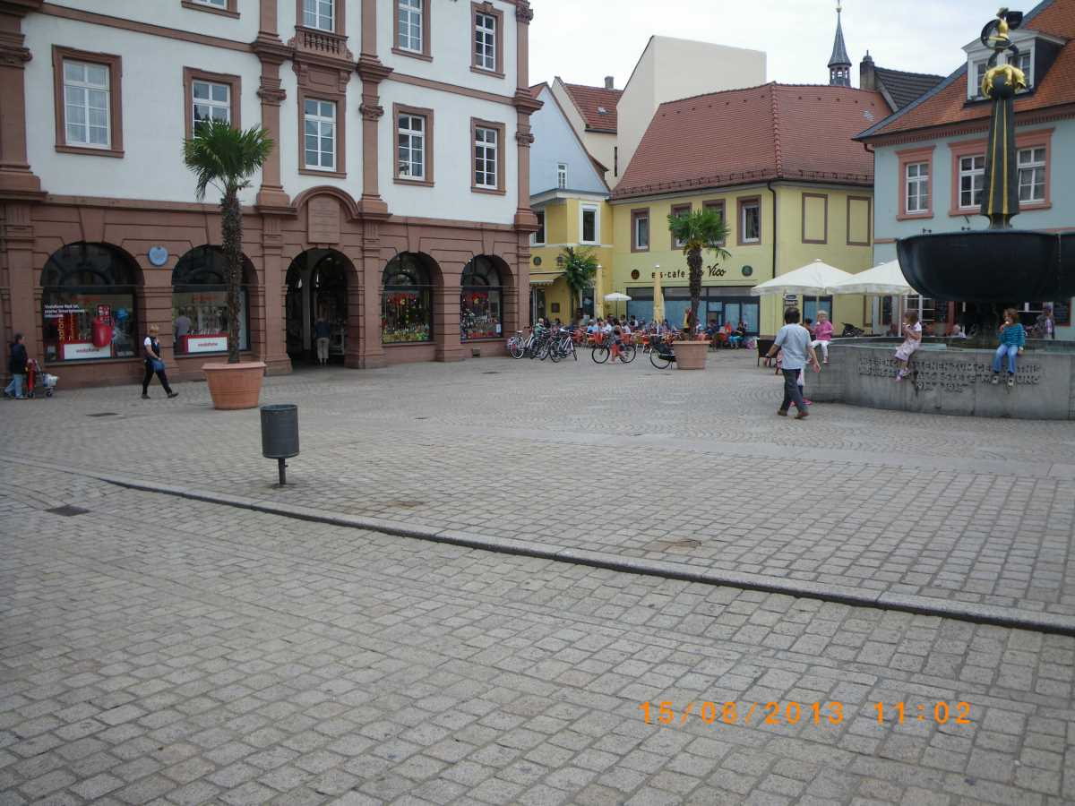 Only one Jehovah's Witness in Speyer on 15 June 2013