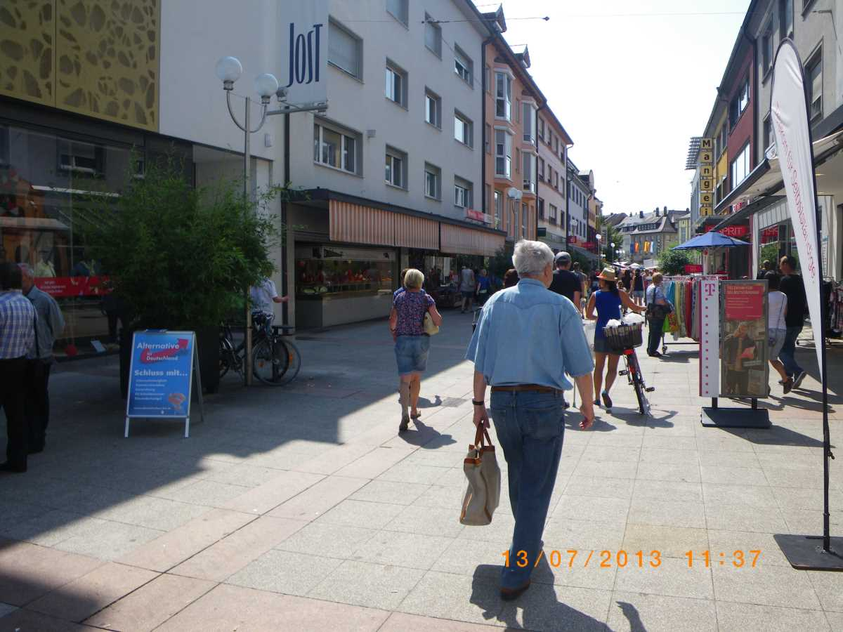 Jehovah-free zone in Bruchsal and Speyer