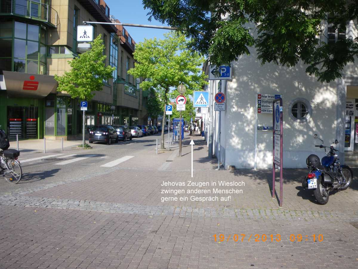 Address to the Jehovah's Witnesses in Wiesloch