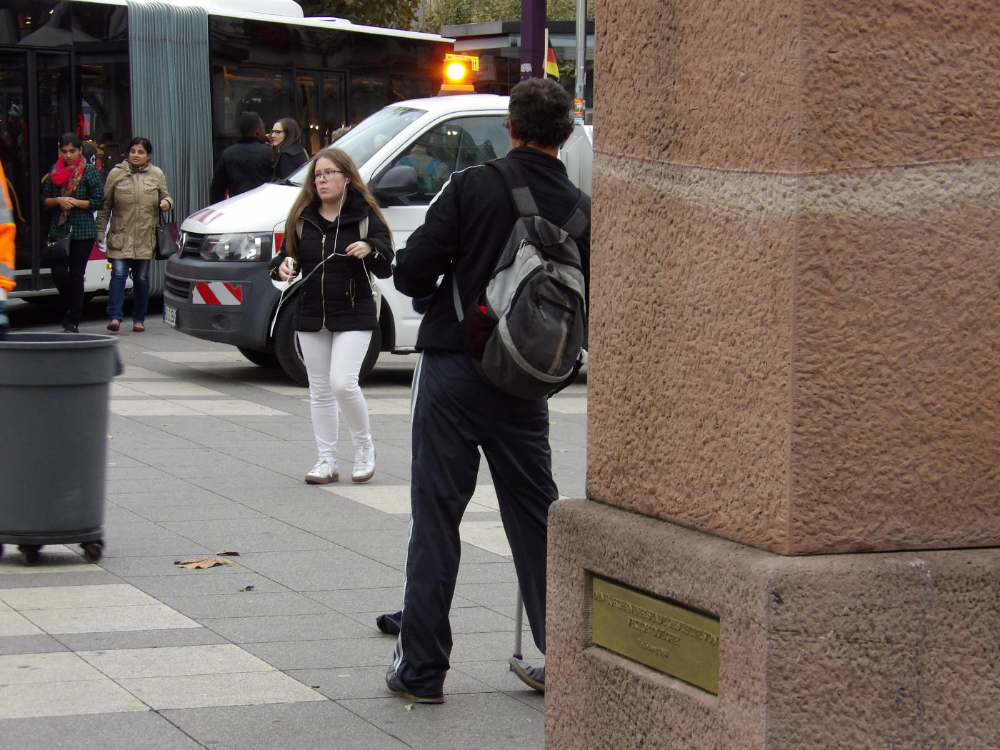 Heidelberg: A Professional Beggar and a Jehovah's Witness