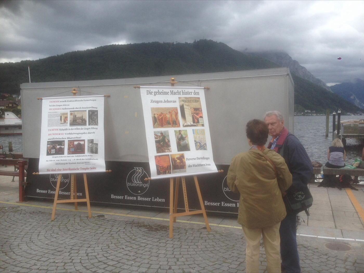 Gmunden in Austria in August 2017