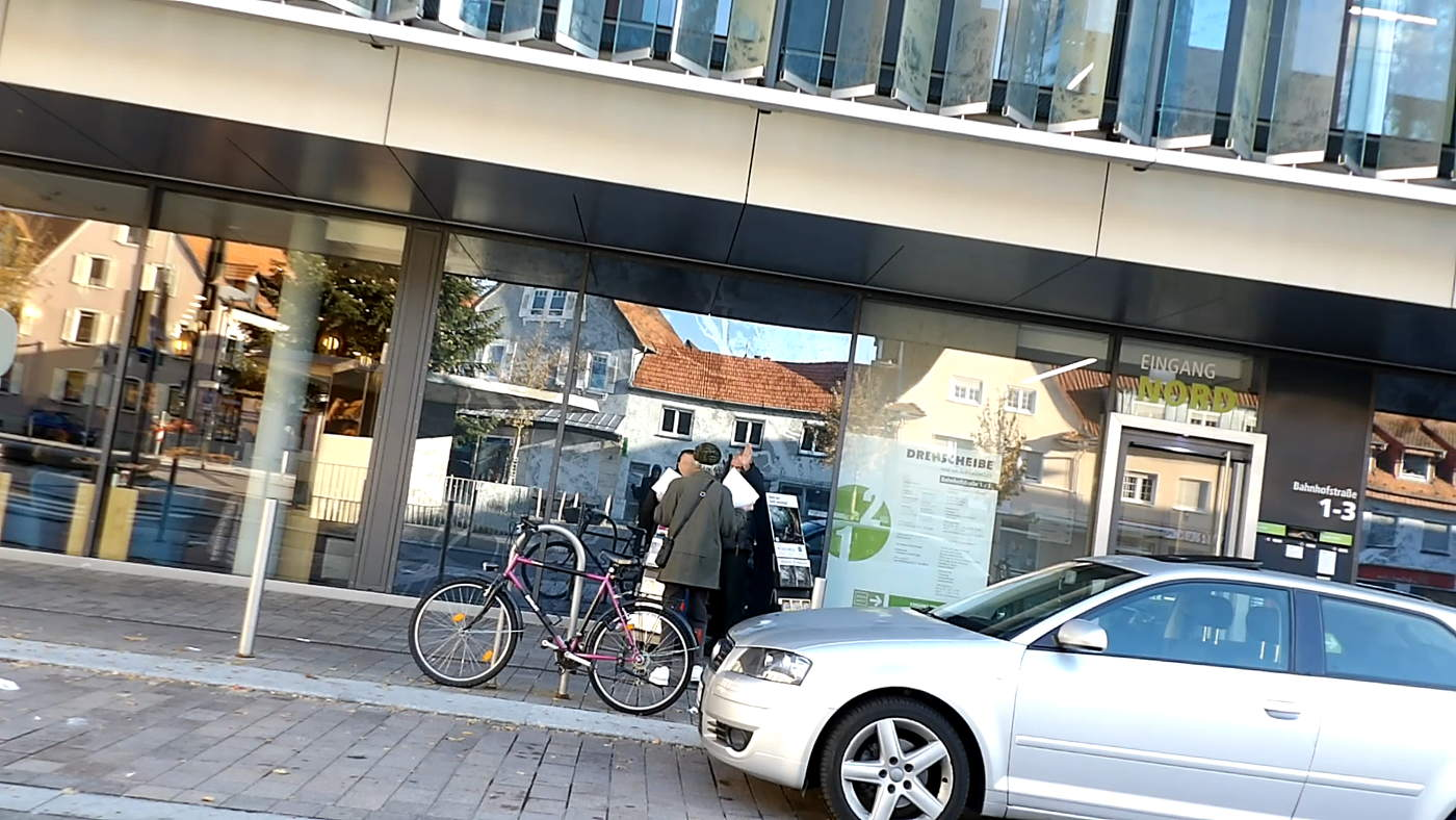 Beautiful day in Walldorf - Non witness checks witnesses