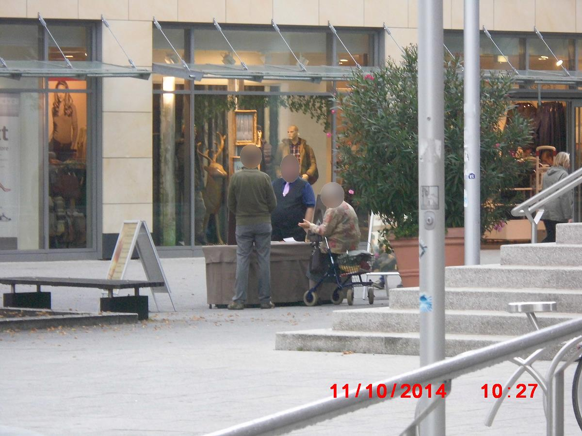 Jehovah's Witnesses embarrass themselves before God and men