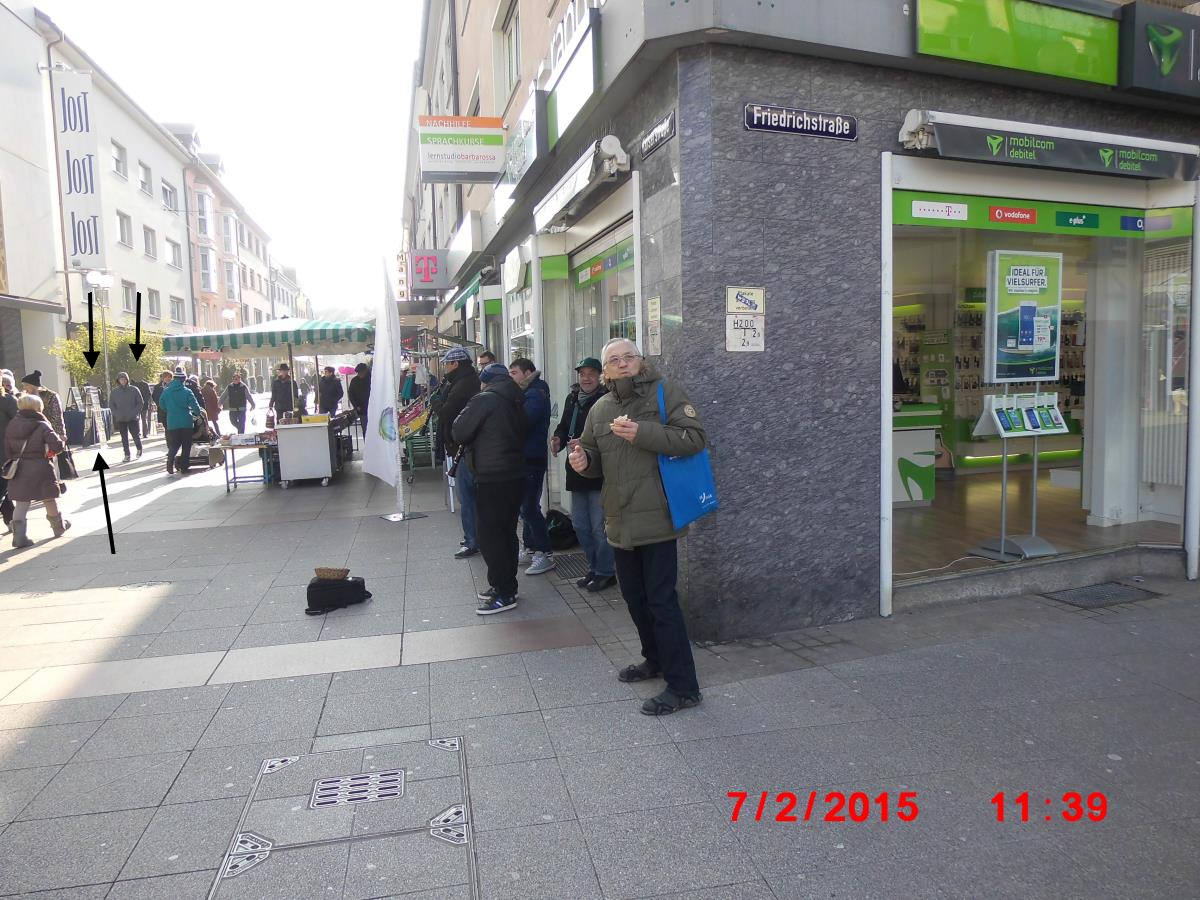 Bruchsal: Jehovah's Witnesses without Interested - Jehovah's Witnesses Only Work Hours - Blunt and Mechanical