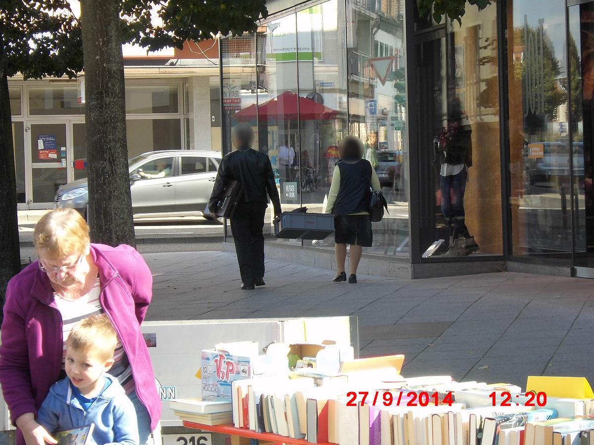 Jehovah's Witnesses in Bruchsal protect themselves through police action