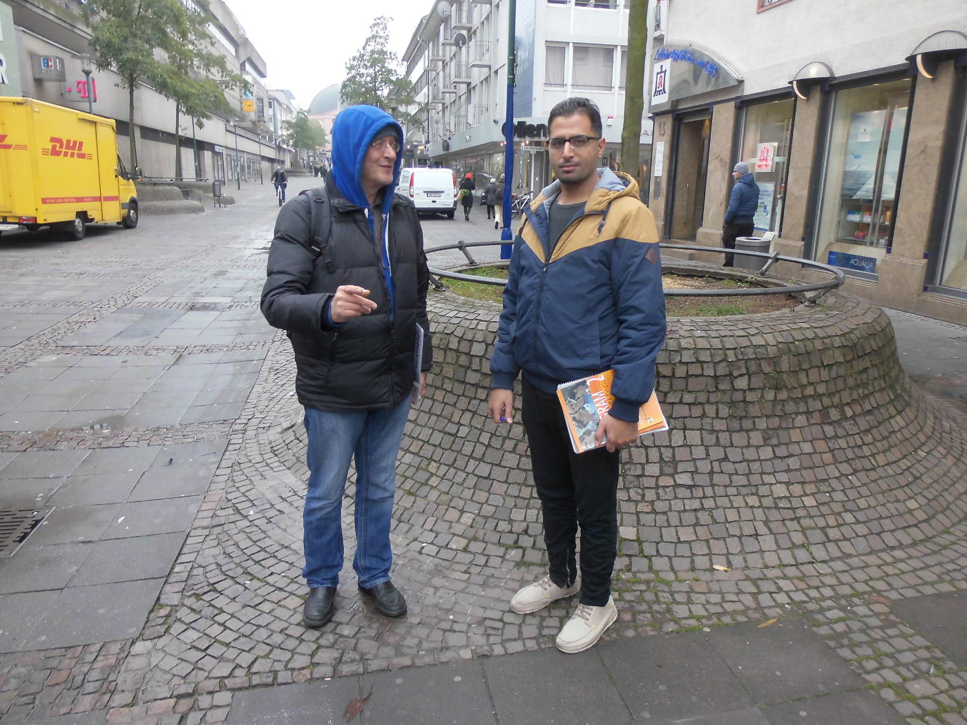 Jehovah's Witnesses in Darmstadt and a Muslim