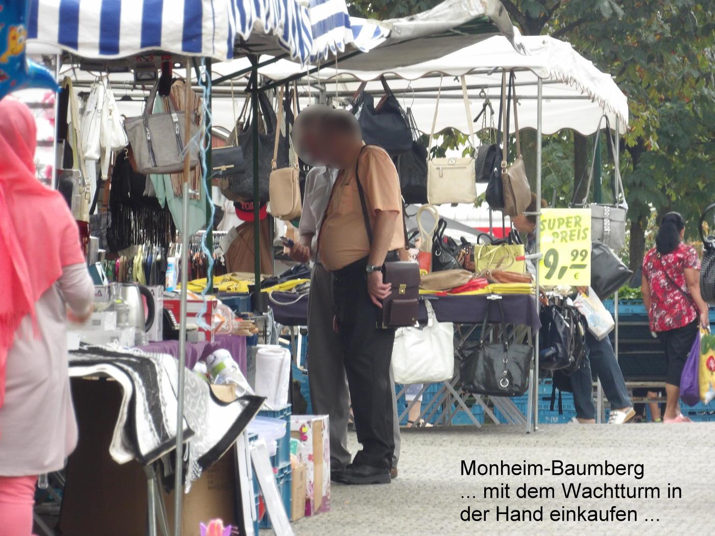 Watchtower slaves in Duesseldorf and Monheim-Baumberg