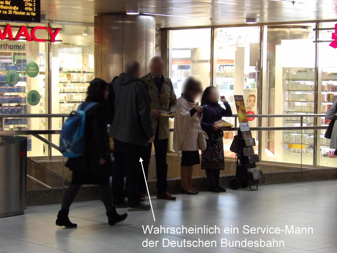 Deutsche Bundesbahn favours Watchtower Society