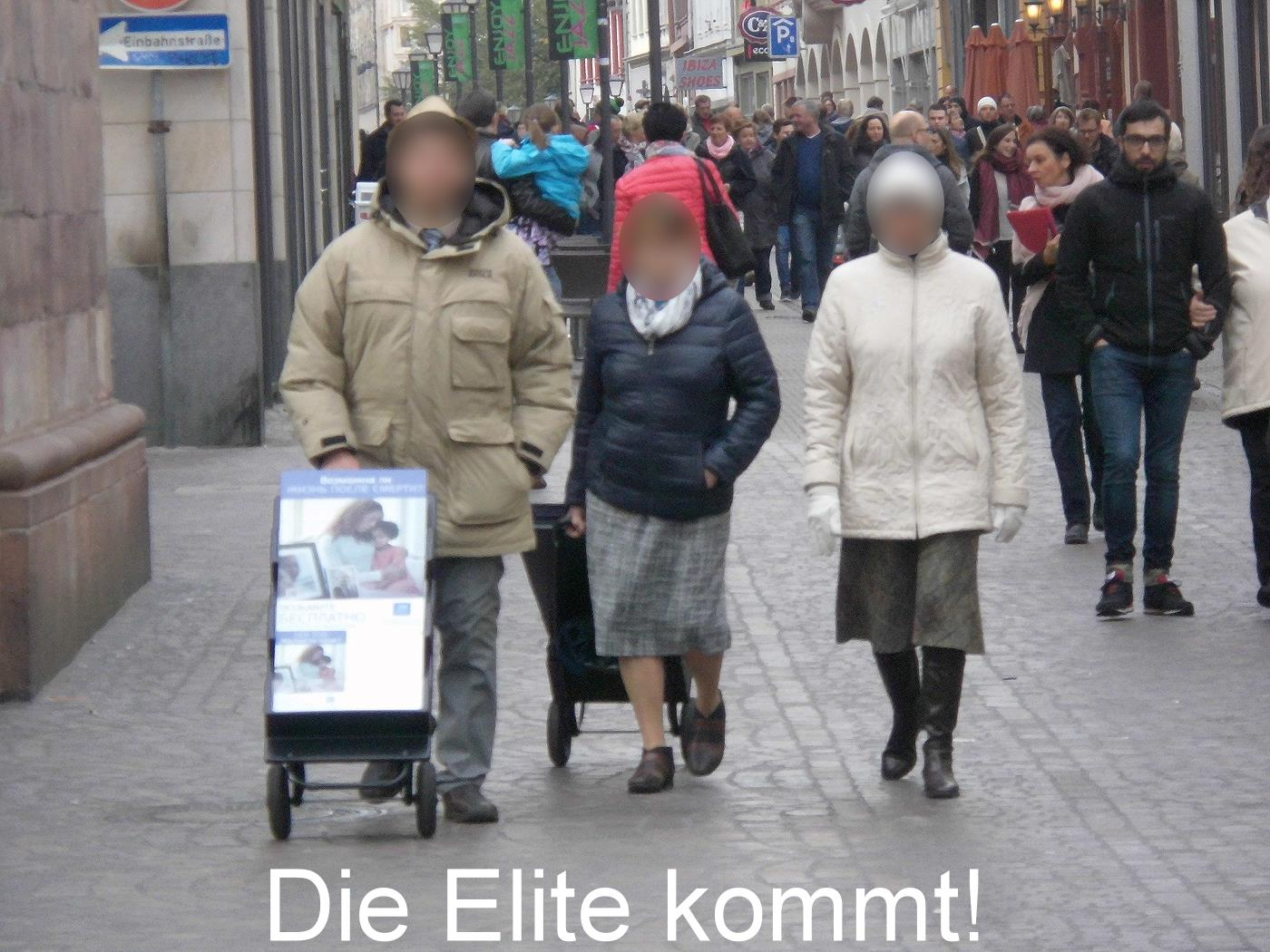 Jehovah's Witnesses - the world elite
