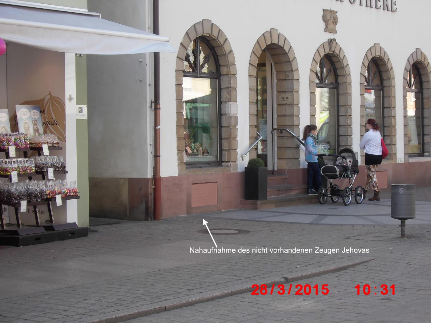 Jehovah lives in Wiesloch - Jehovah's Witnesses already think in Bruchsal and Speyer!
