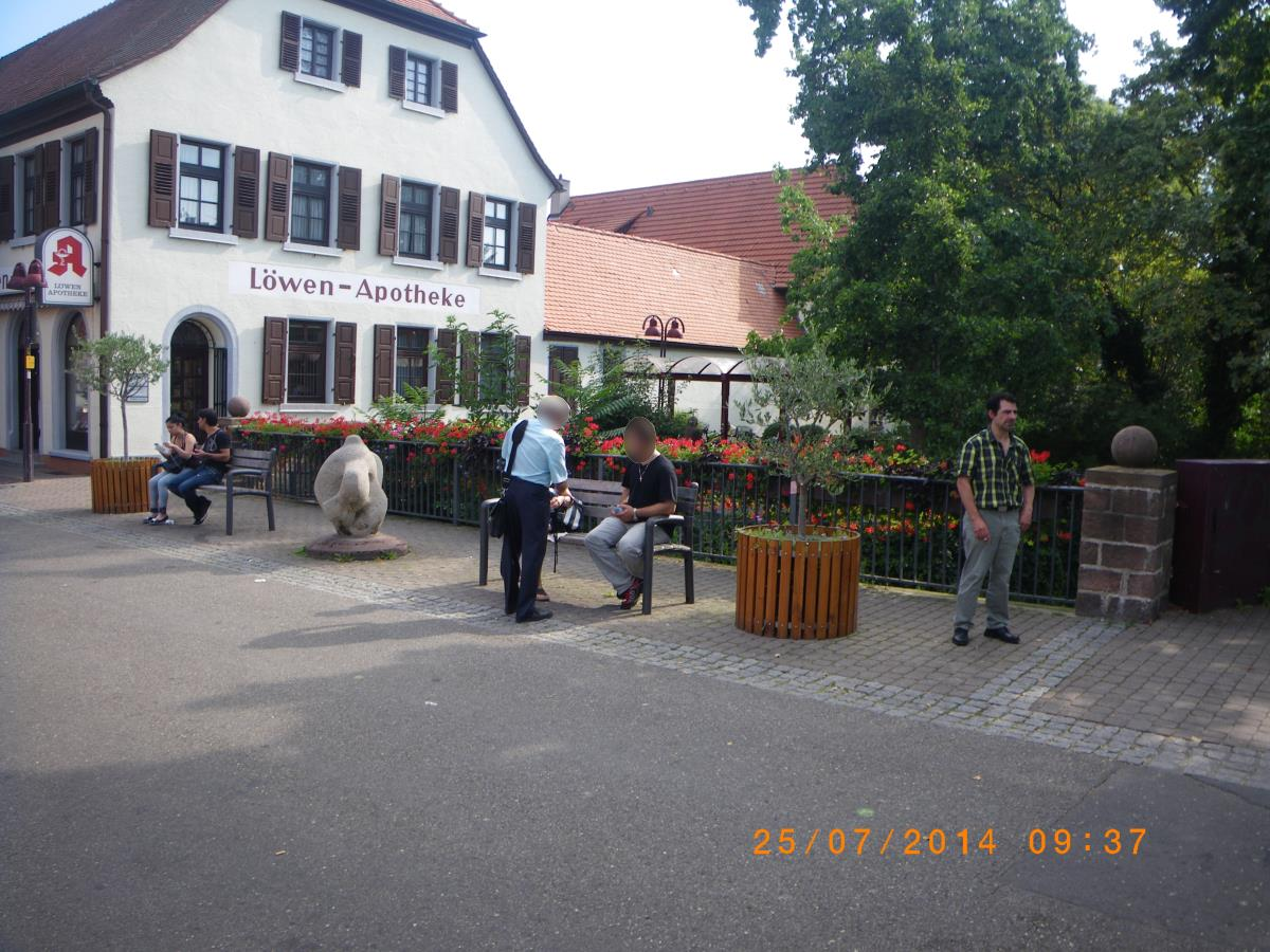 Jehovah's Witnesses think they're the future owners of Wiesloch