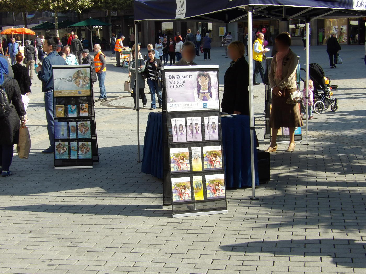 Criticism of Jehovah's murder advertising in Heilbronn