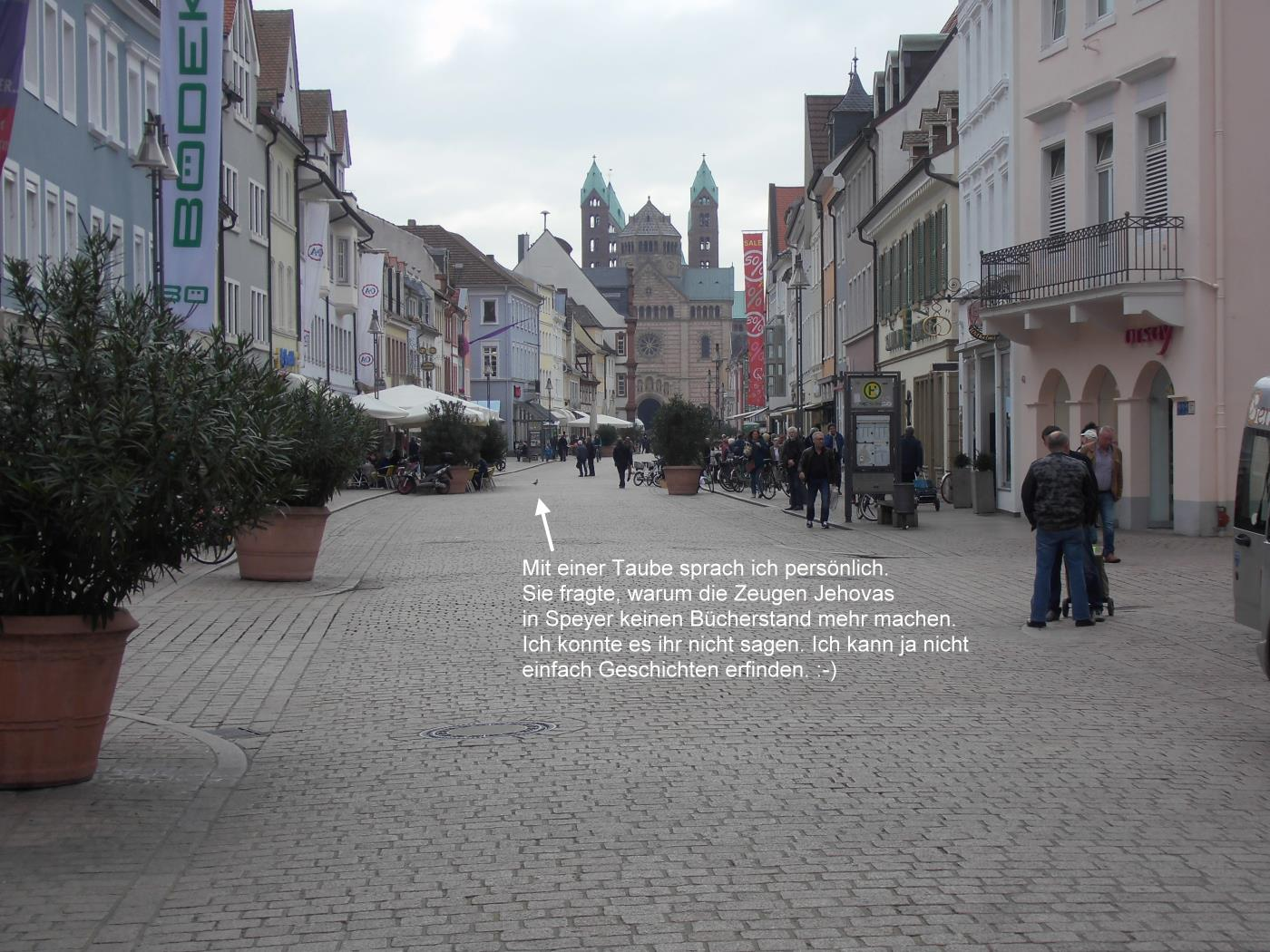 In Speyer no Jehovah's Witnesses, only Christians