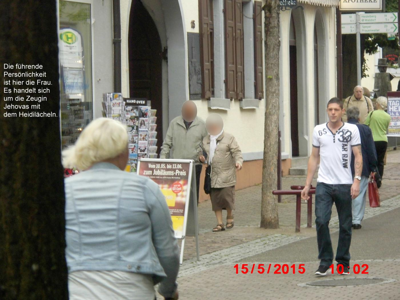 Jehovah's Witnesses fail in Wiesloch