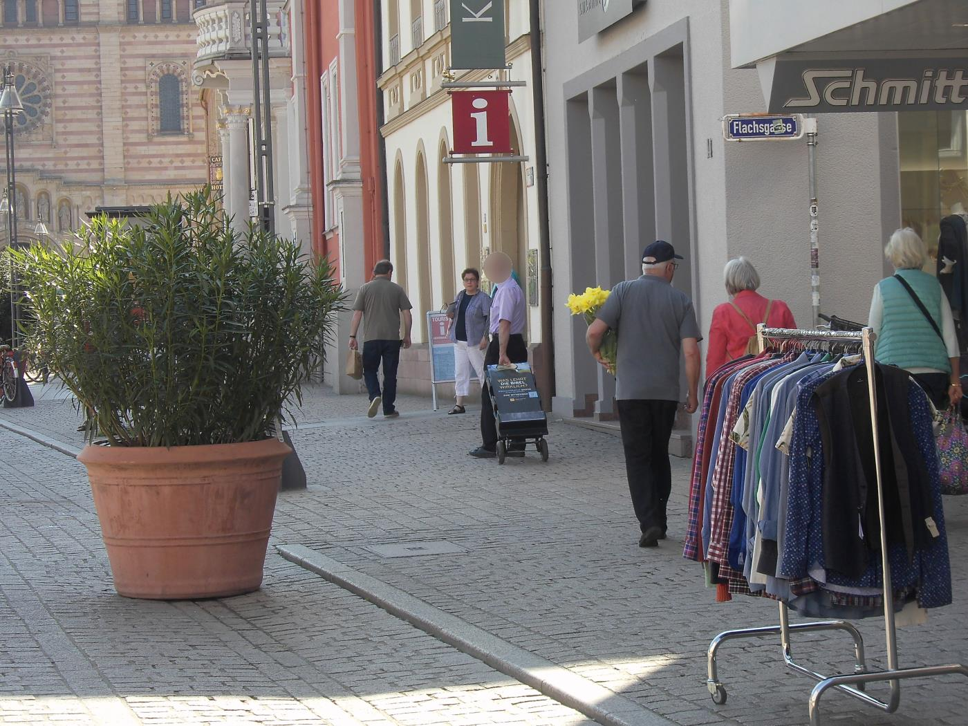Jehovah's Witnesses in Speyer without human contact
