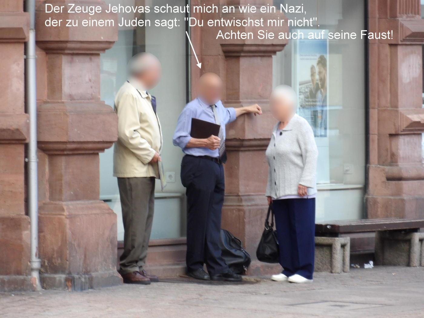 The superiority of Jehovah's Witnesses is perfect