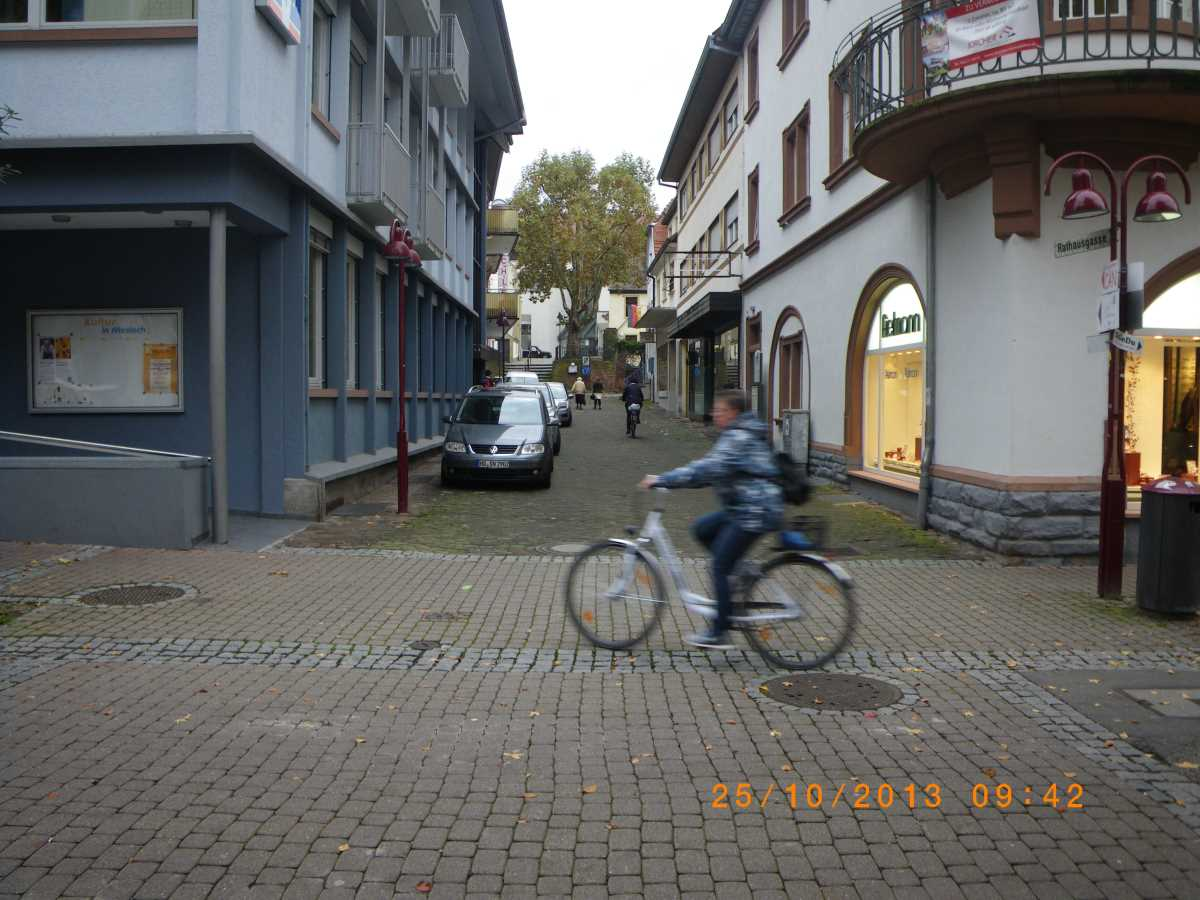 Jehovah's Witnesses in Wiesloch steadfast for several minutes