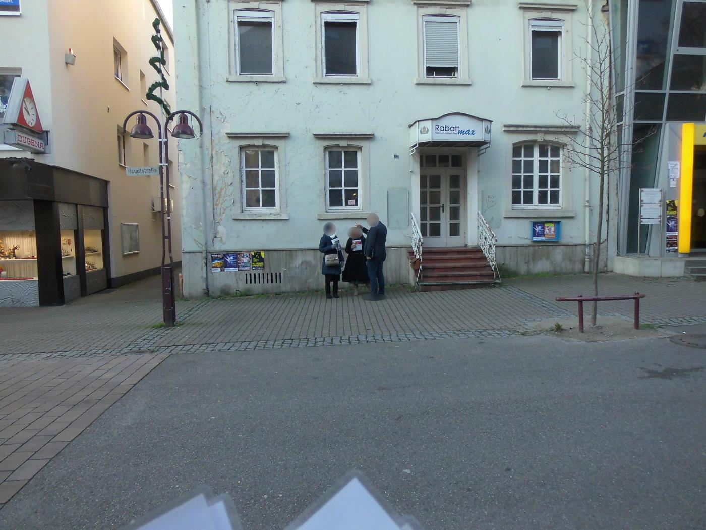 Wiesloch Jehovah's Witnesses are just tired. I understand you.