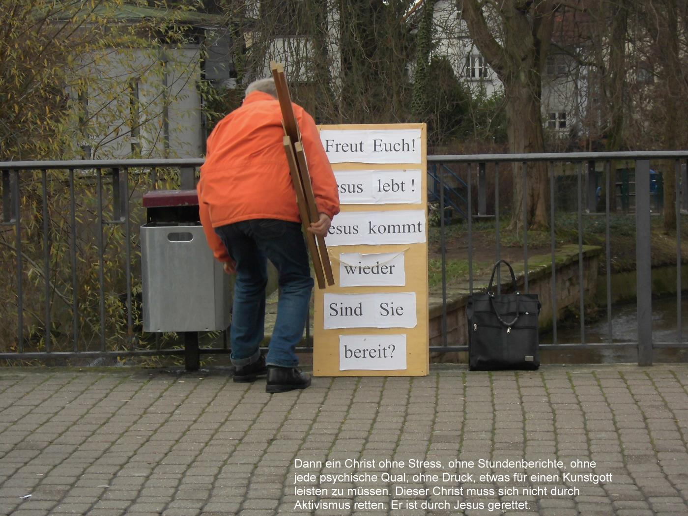 Wiesloch: Jehovah's Witnesses, Christians and Muslims