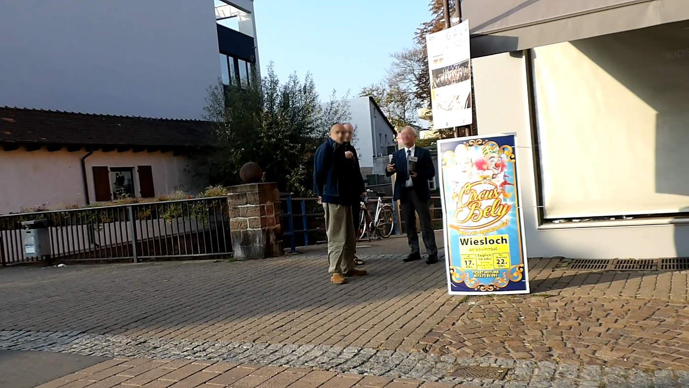 No hunts in Wiesloch - but massively threatening Muslims