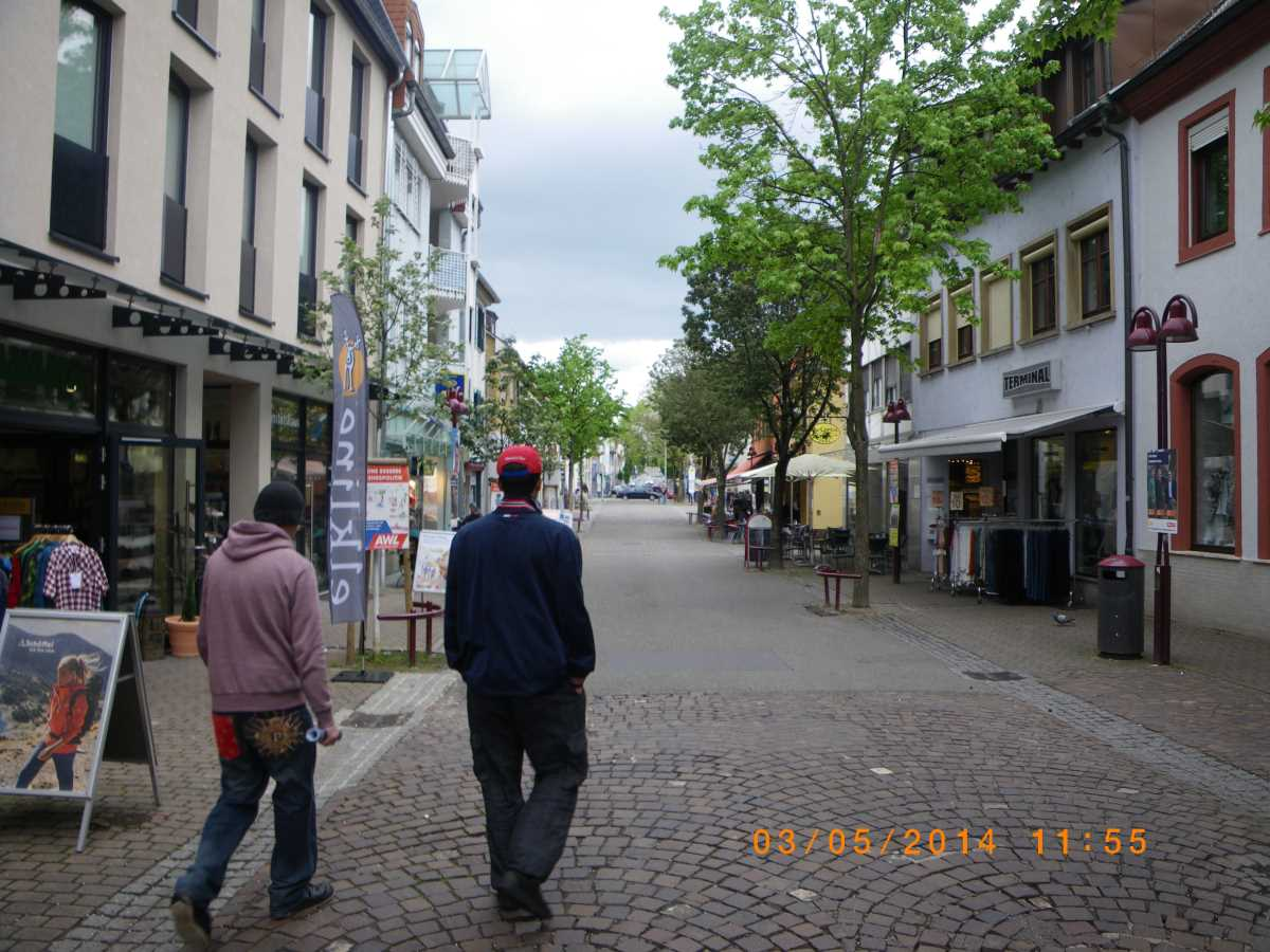Mass appearance of Jehovah's Witnesses in Wiesloch