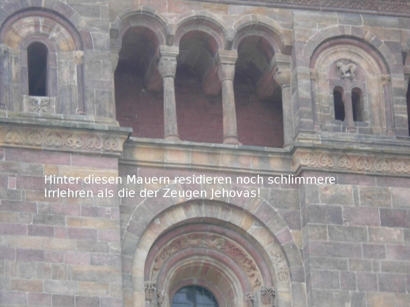 Speyer: almost no Jehovah's Witnesses