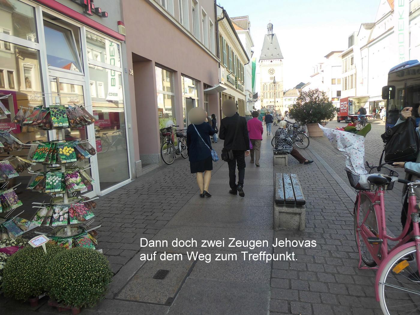 Jehovah's Witnesses invisible in Speyer