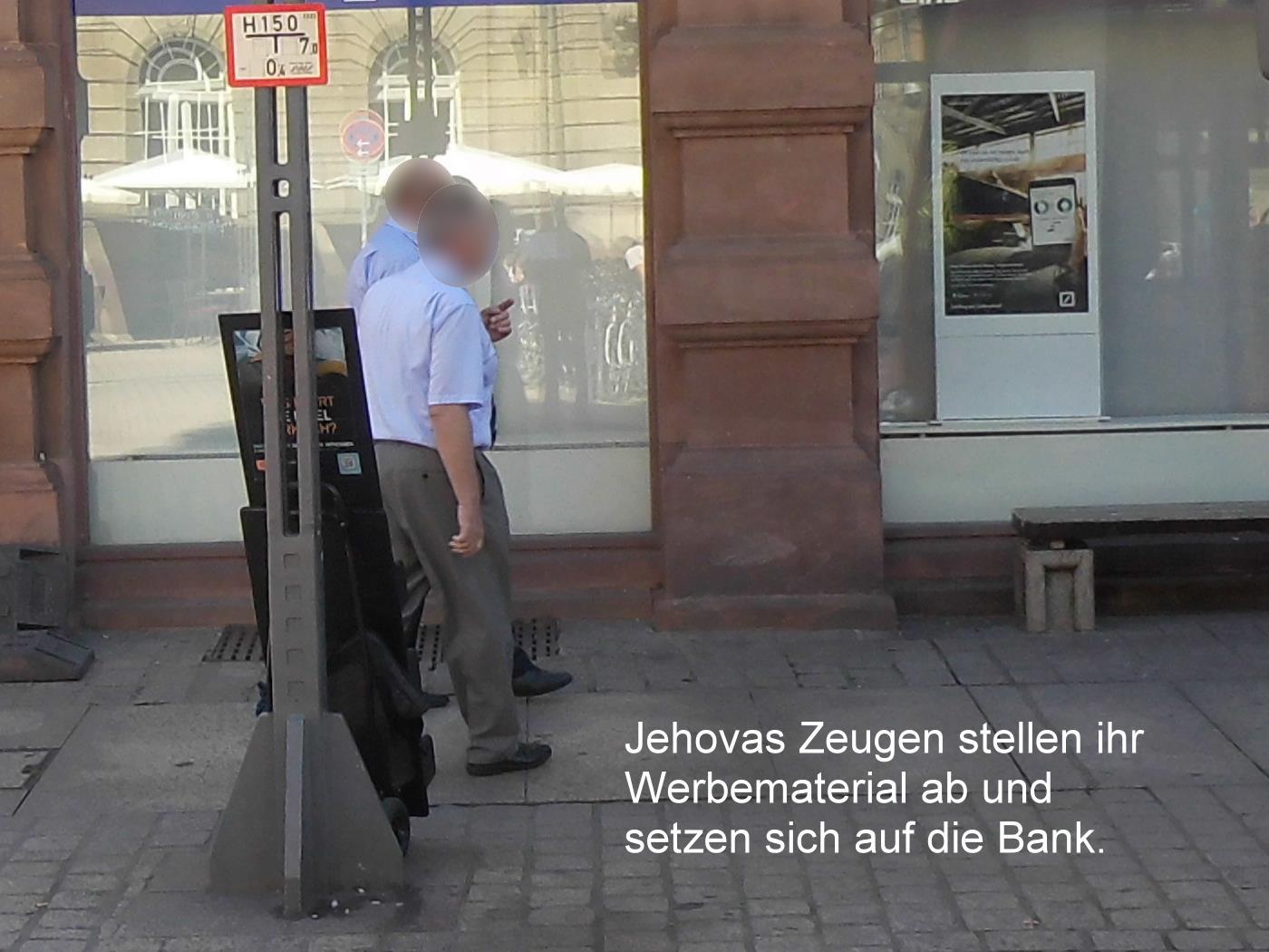 Jehovah's Witnesses in Speyer: Spider seeks flies