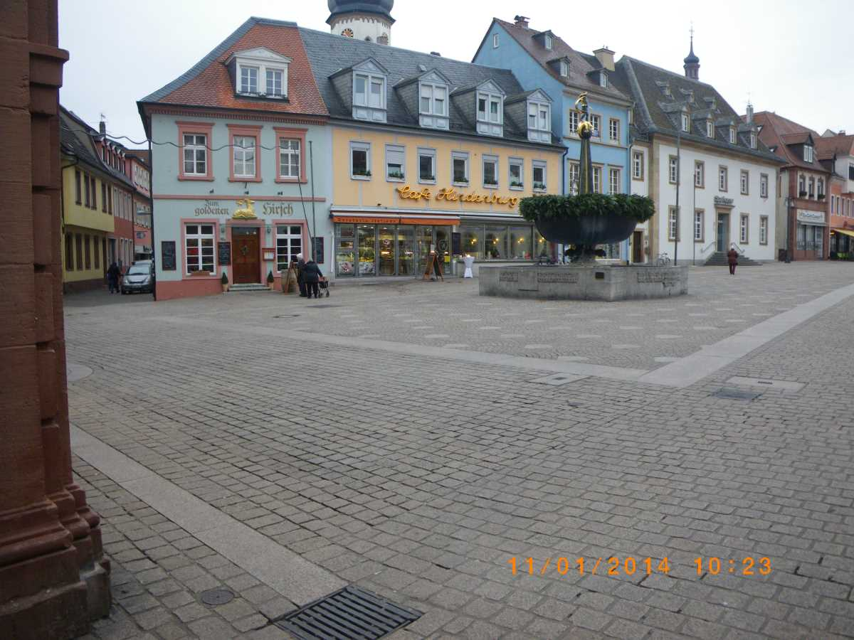 Only one Jehovah's Witness in Speyer