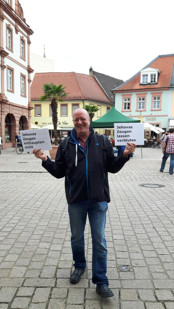Jehovah's Witness Clarification in Speyer