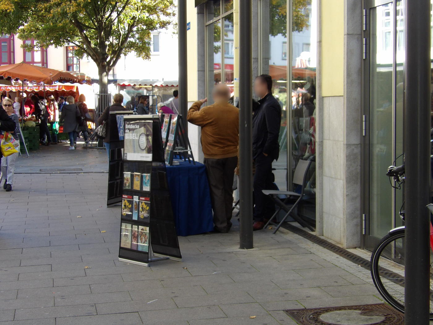 Thanks to the Bruchsal Jehovah's Witnesses!