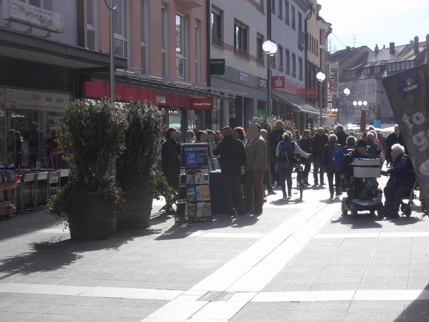 Jehovah's Witnesses back in Bruchsal