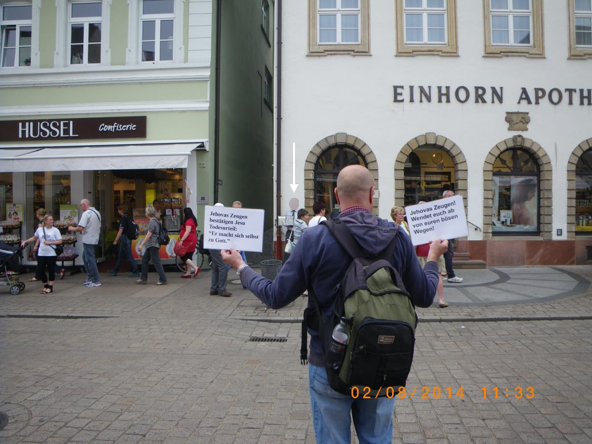Clearing up Jehovah's Witnesses in Speyer and Wiesloch
