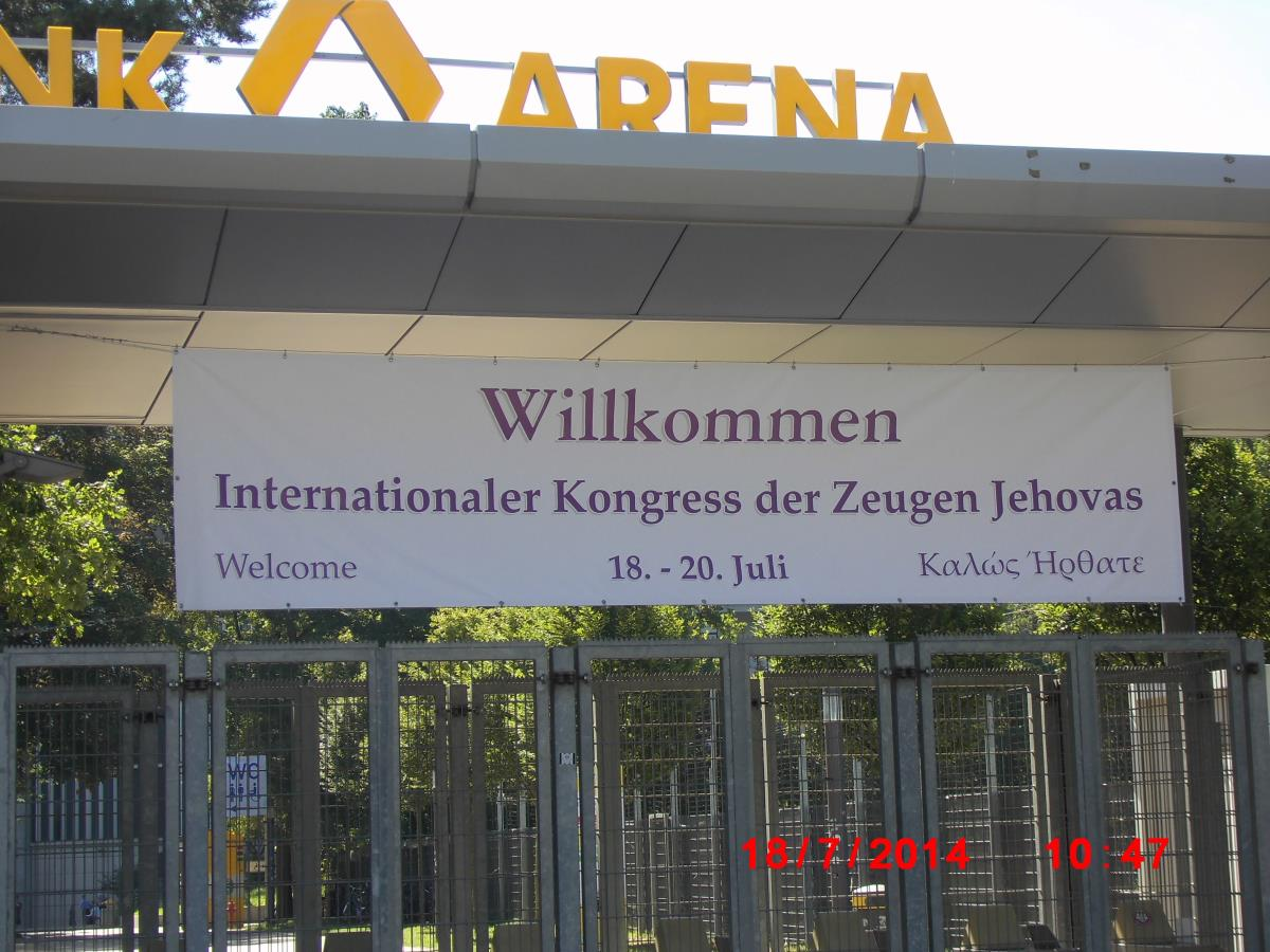 Congress Frankfurt - Jehovah's Witnesses have Spiritual Hunger!