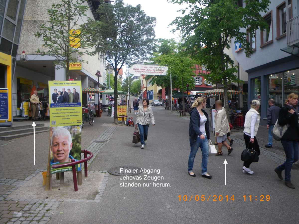 Christian and Antichrist in Wiesloch