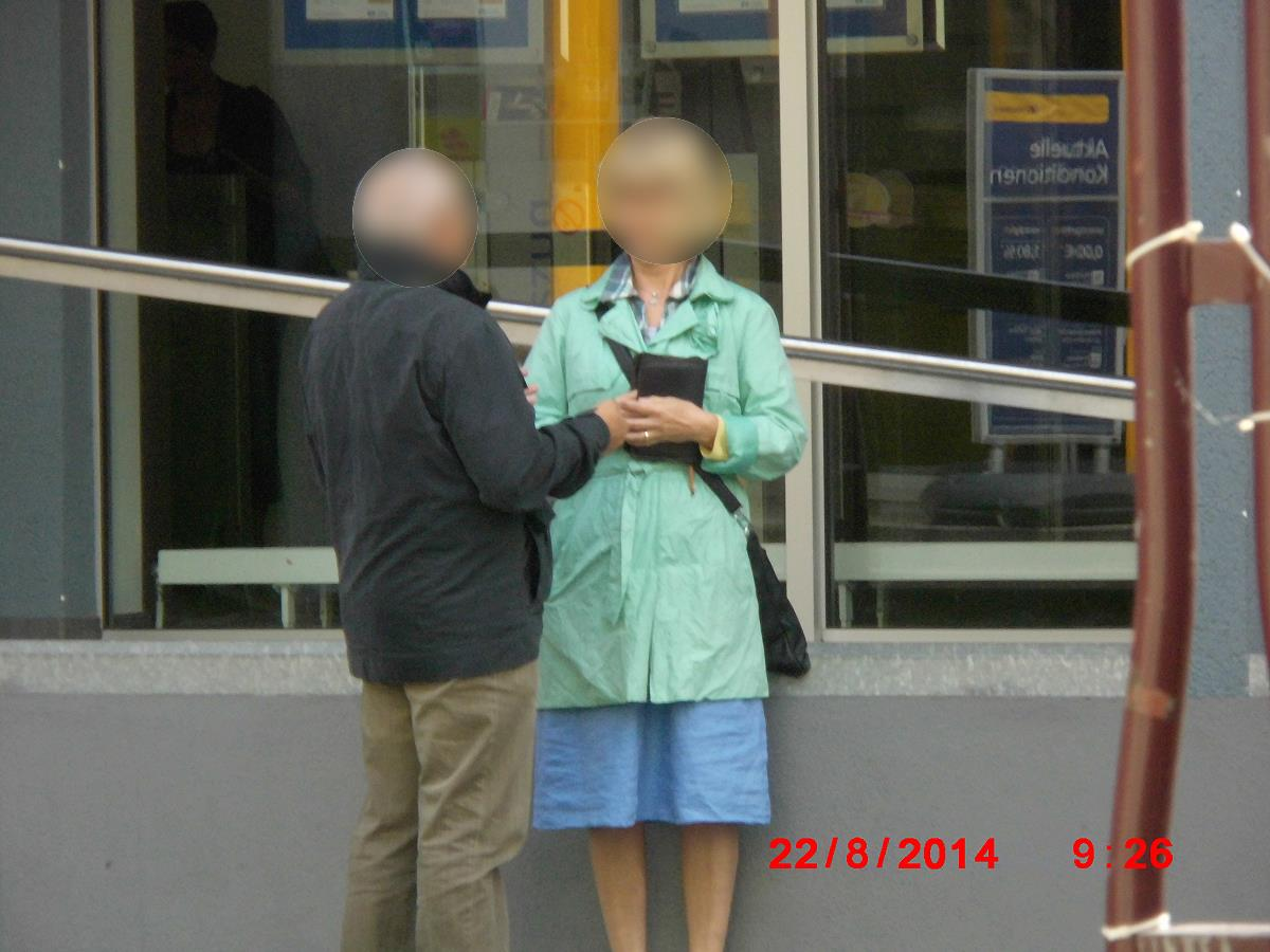 Jehovah's Witnesses caught in Wiesloch in flagrante!