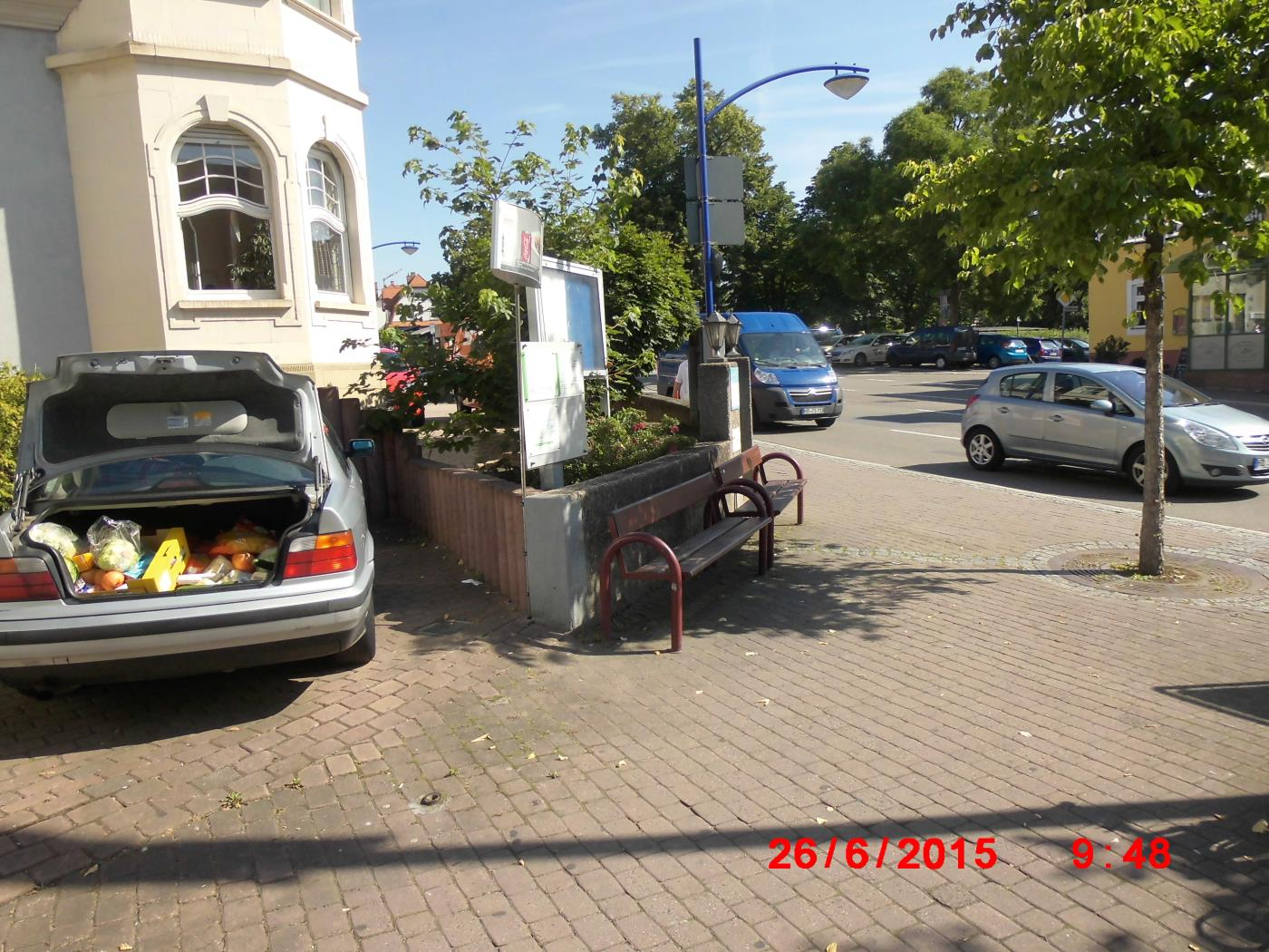 Wiesloch: Jehovah's Witnesses film me