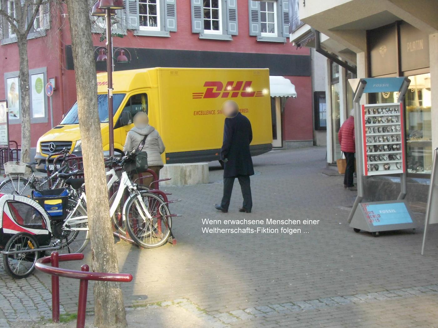 Wiesloch Jehovah's Witnesses cheeky again