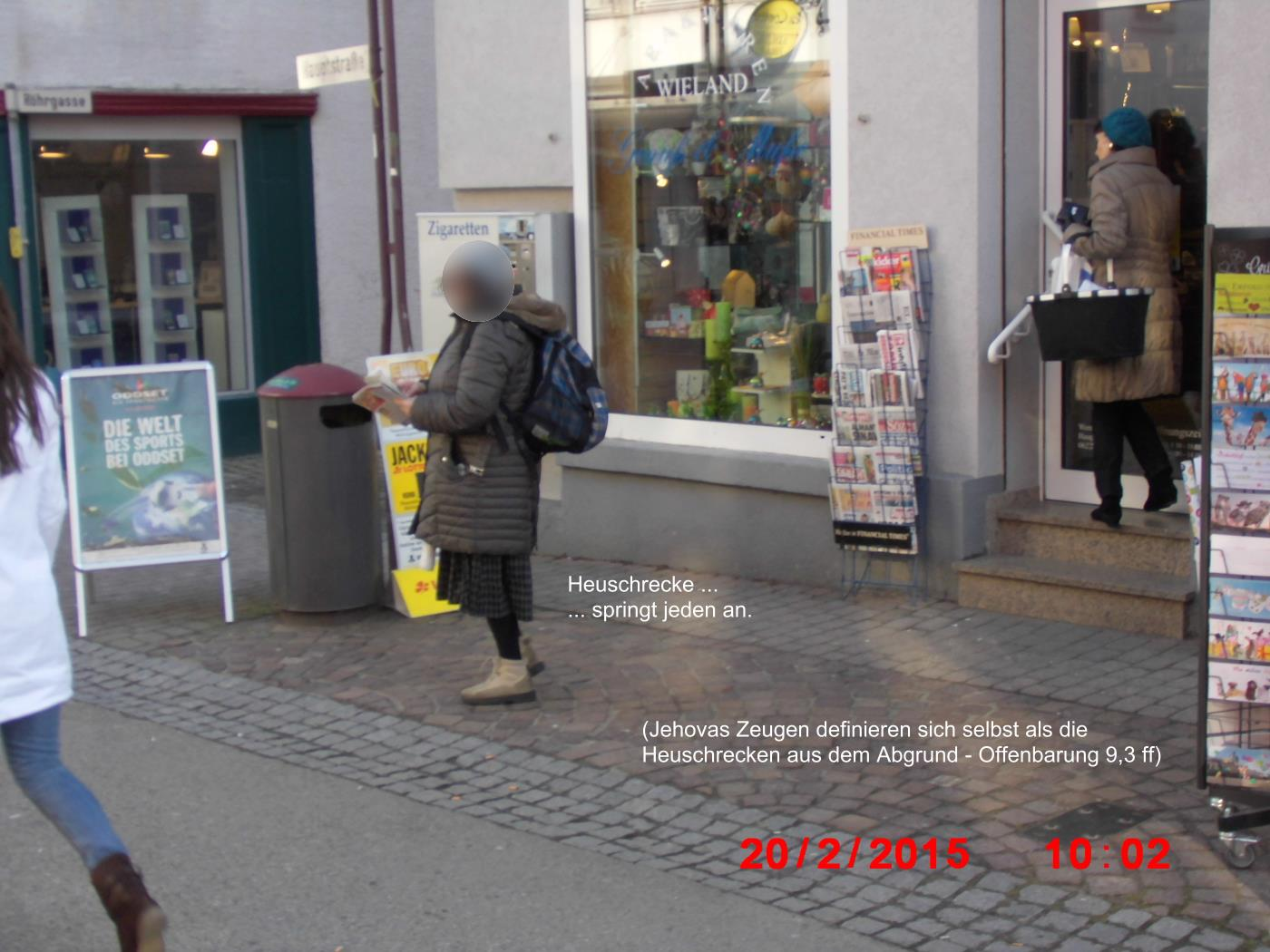 Locusts: Jehovah's Witnesses in Wiesloch