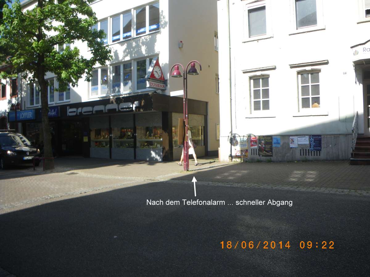 Major alarm at Jehovah's Witnesses in Wiesloch