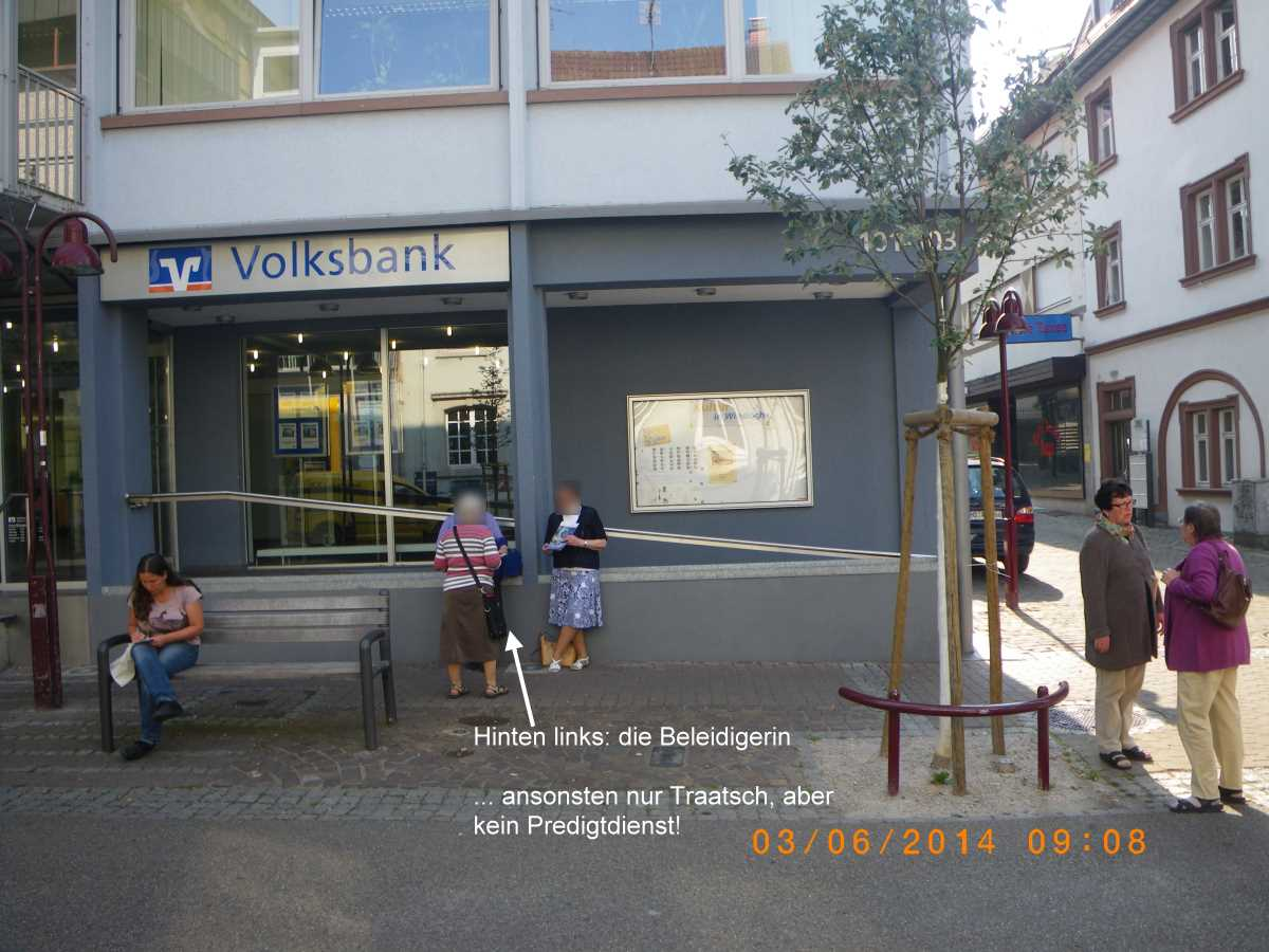 Wiesloch to be a place of pilgrimage for Jehovah's Witnesses