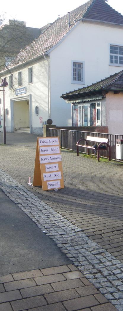 Wiesloch: No Jehovah's Witnesses - but Christians!